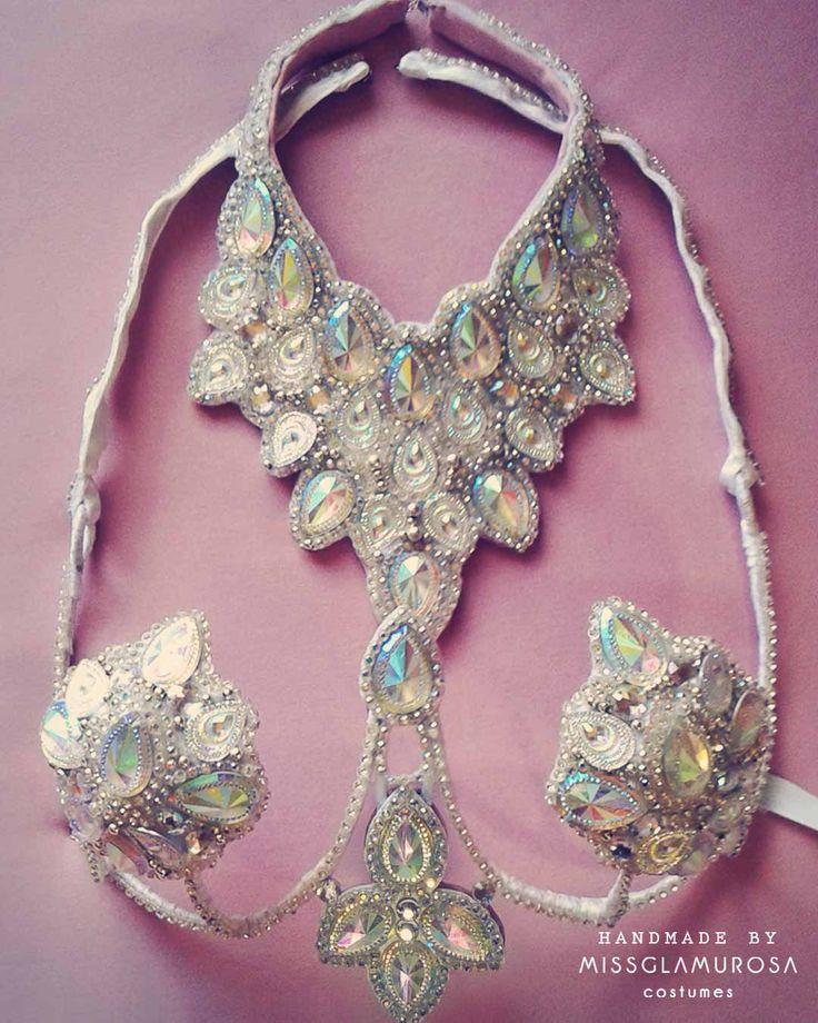 Starlight Top Detail Samba Costume by Miss Glamurosa Costumes