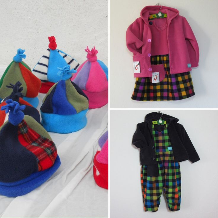 Unique childrens clothing, made from cosy, high quality polyester fleece. Keep them warm and comfortable