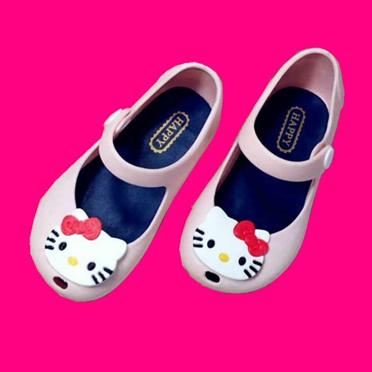 Mini Melissa jelly shoes with hello Kitty $5.87 from Aliexpress