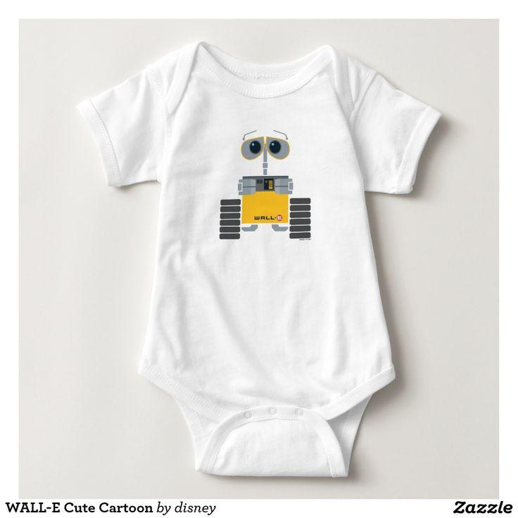 WALL-E Cute Cartoon Baby Bodysuit
