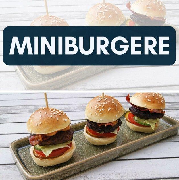 Stor smag i mini-format - disse burgere er bare gode.