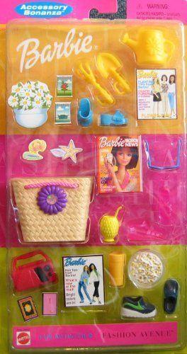 Barbie Accessory Bonanza Fashion Avenue Fun Activities Pack 2000 | eBay