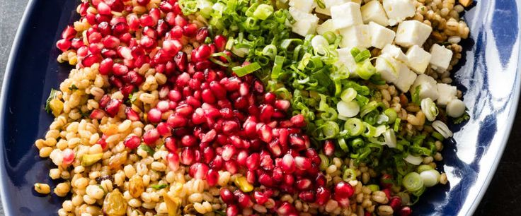 This vibrantly spiced pearl barley salad has just the right balance of sweetness, tang, and nuttiness.
