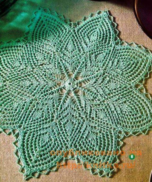 Delicadezas en crochet Gabriela: Cuatro modelos a elección de carpetas en dos agujas