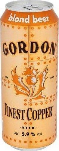 GORDON Finest Copper 5.9% 50cl GORDON Finest Copper is a brilliant lager character in bold, powerful and masculine. This beer is a real top-fermented ale with an intense golden color with copper highlights. Gordon brewery uses premium ingredients carefully selected for making this slightly stronger blonde seduced from his mouthing by its taste with finesse, simply exquisiteBuy this on: www.chockies.net