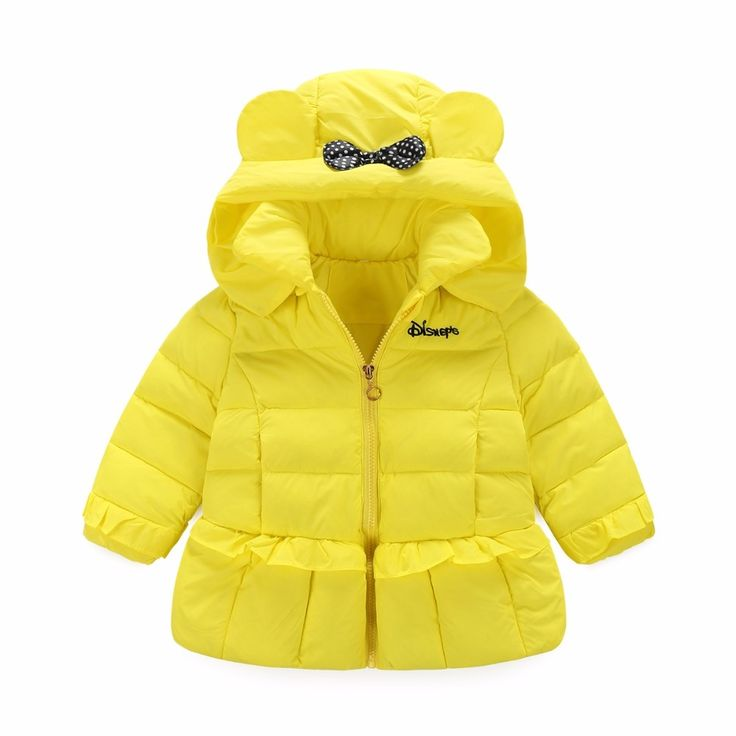 36.98$  Watch here - http://aliwbs.shopchina.info/1/go.php?t=32755261517 - New Minnie Mouse Winter Jacket for Girls White Duck Down Cartoon Baby Snowsuit Kids Winter Outerwear Parkas baby girl jacket  #buyonline