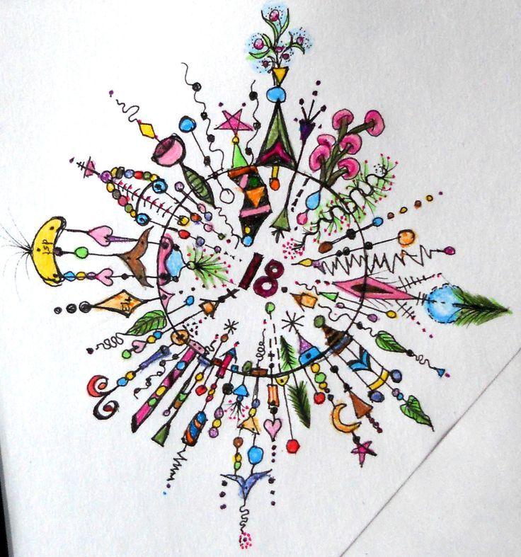 joanne fink | Dangle Circle (see Joanne Fink's book) 2013 Dusty's ... | Art Journal ...
