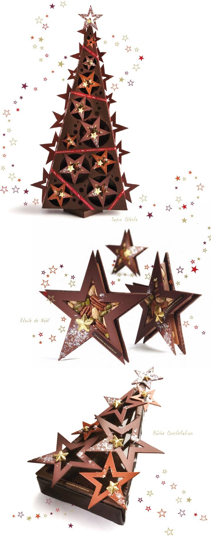 Noël sous les étoiles à La Maison du Chocolat
