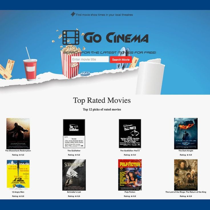 Check out my new project called Go Cinema a simple movie web application where you can find your favorite movies and movie showtimes at your local theatre.  #movies #app #webdev #angular #node #omdb #javascript #code #websites