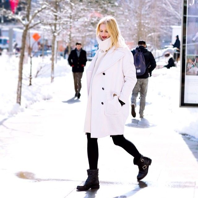 Anti-aging footwear? I'm down. Candice Lake wearing the YOUTH boot at #NYFW 2014