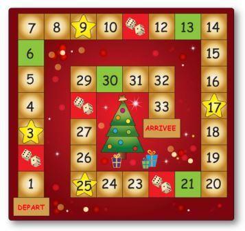 Jeu de numération Le sapin de Noël, jeu numération Noël