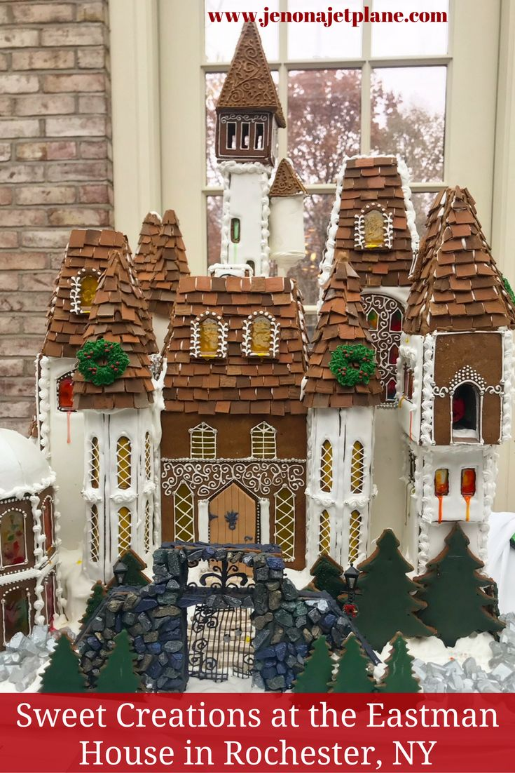 1 bedroom apartments for rent in rochester ny%0A The Sweet Creations exhibit at the Eastman Museum in Rochester  New York is  one holiday display you must see  Check out these incredible gingerbread  houses
