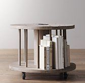 $306 vintage spool side table https://www.rhbabyandchild.com/catalog/product/product.jsp?productId=rhbc_prod395418&categoryId=search