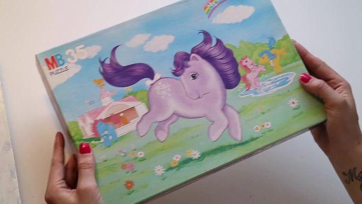 My little pony vintage puzzle Hope you guys like it::)  #MEvintagetoys