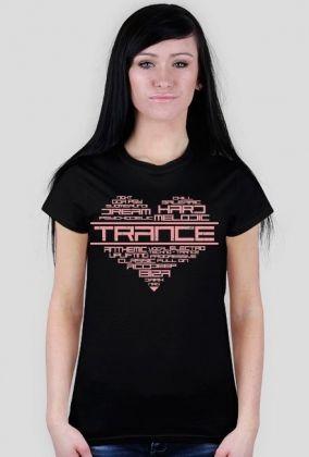 Koszulka damska TRANCE HEART