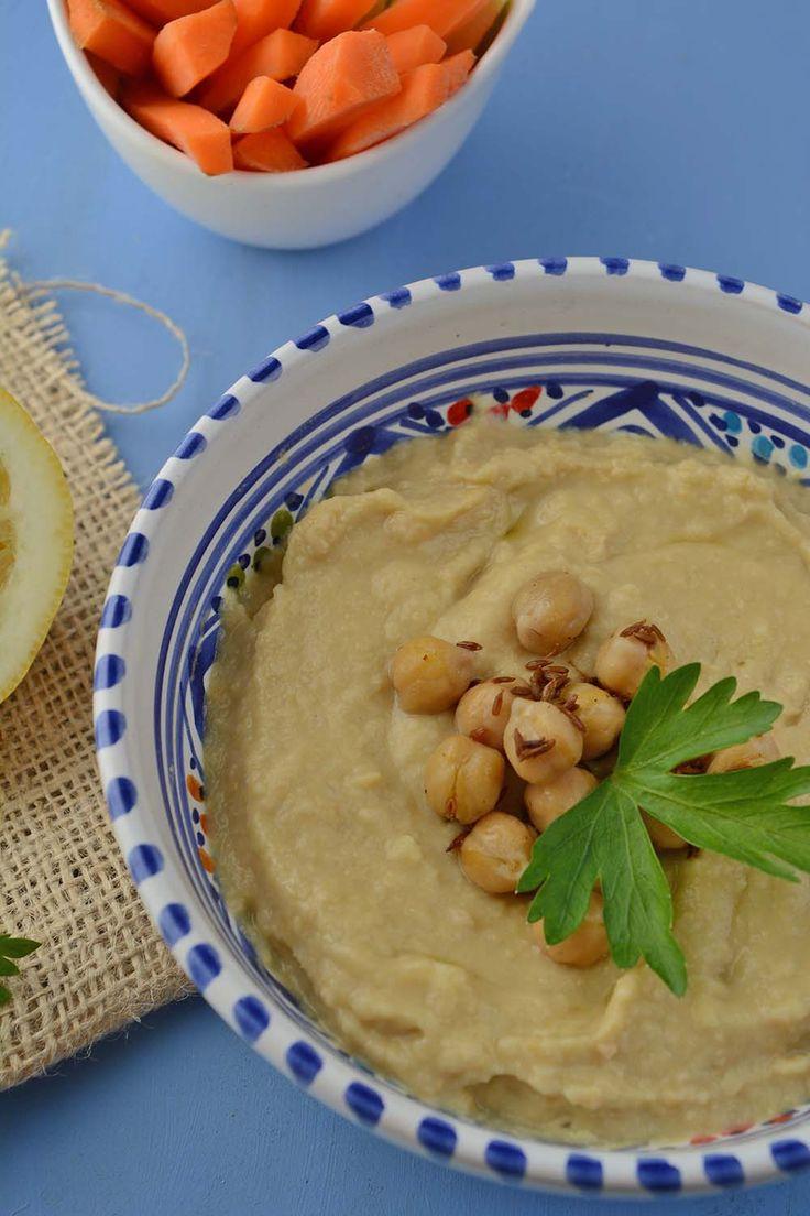 Hummus di ceci, la ricetta tradizionale mediorientale | Sapori dal mondo