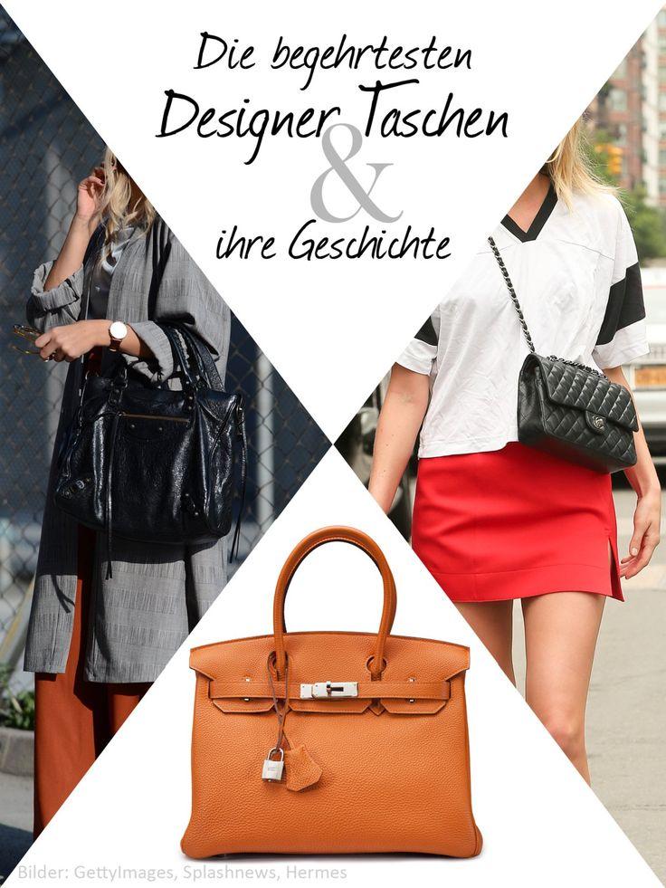 Designer Taschen sind die Statussymbole der Frauen: Wer eine der begehrten Designer Taschen von Hermès, Chanel oder Louis Vuitton besitzt, zeigt nicht nur, dass er das nötige Geld besitzt, sondern kauft mit den zeitlosen Designer Taschen auch gleich Stil mit dazu. Welches sind die berühmtesten Designer Taschen? Was kosten diese begehrten Designer Taschen? Welche Stars tragen die Designer Taschen? Hier erfahrt ihr alles, was ihr über die berühmtesten Designer Taschen wissen müsst!