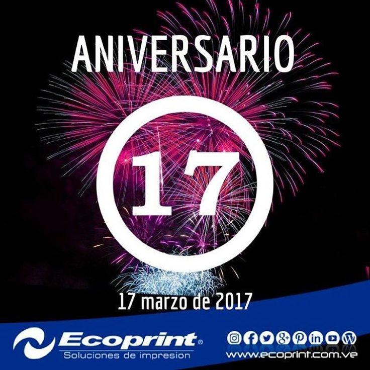 Hoy estamos de ANIVERSARIO!!! ✔ Ya son 17 años aprendiendo, creciendo y dando el mejor servicio a nuestros clientes . Somos orgullosamente una empresa 100% #venezolana y contamos con un extraordinario equipo de trabajo #margariteño.  GRACIAS POR CONFIAR EN NOSOTROS
