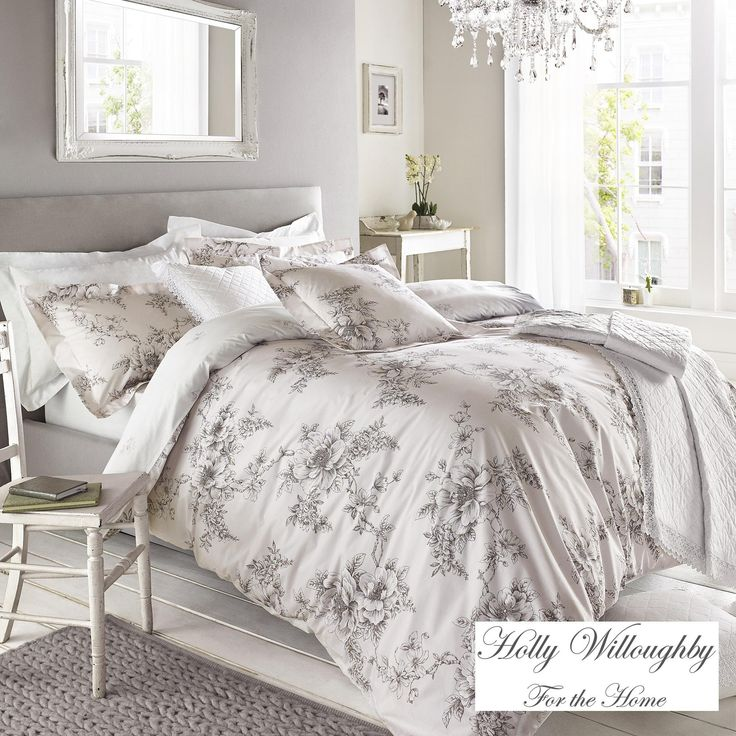 Holly Willoughby Jenna Pink Bed Linen Collection   Dunelm