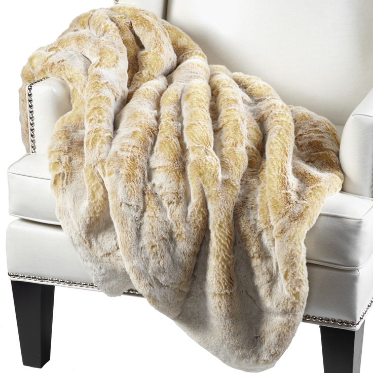 This sumptuous faux chinchilla throw from Z Gallerie is the next best thing to a warm hug. 50 by 60 inches, available in five colors. $149.95.  Z Gallerie is at 309 Plaza Real, Mizner Park. Call 561-347-5966 or visit http://www.zgallerie.com/.
