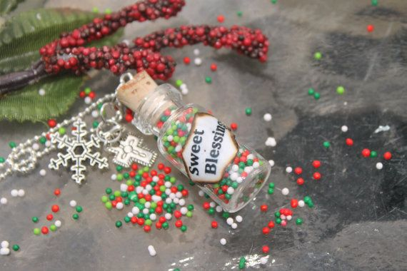 Sweet Blessings Candy Sprinkle Winter Wonderland by tranquilityy