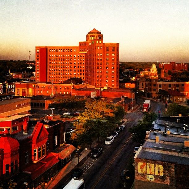 Rockford S Mayor Took This Photo From City Hall At Sunset
