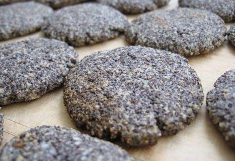 Citromos-mákos keksz zabkorpával