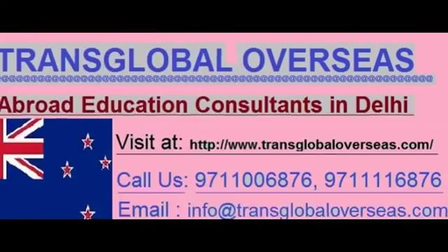 Considering in Abroad Education Consultants for New Zealand has continually been a huge decent position to overall understudies who are imagining make their calling and getting settle in New Zealand With the assistance of best Overseas Education Consultants in Delhi. Newzealand has been staggeringly kind in welcoming general understudies and their visa degree has been amplifying a clearly relentless measure of time. In light of its wide combination of courses and high achievement degree, Ind...