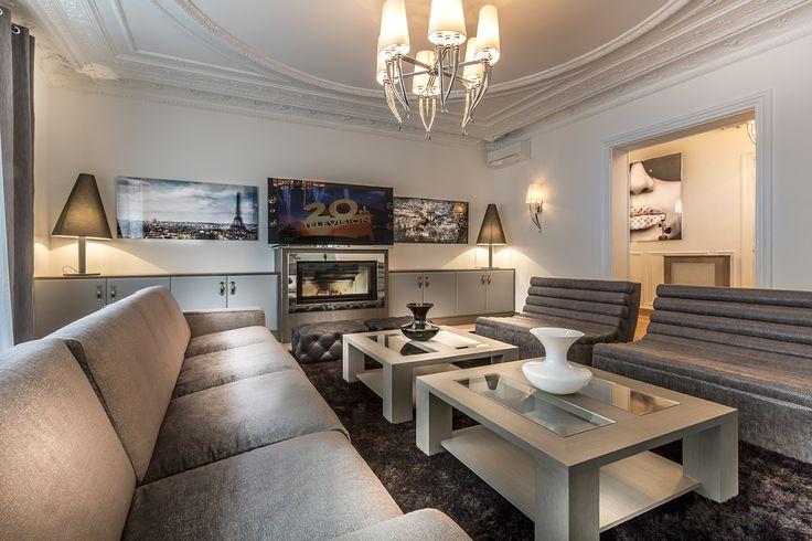 © Steeves Ambill - Ikone Luxury appartement in Paris- Design appartement Paris
