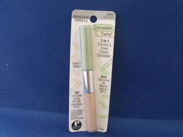 PHYSICIANS FORMULA CONCEAL.TWINS CREAM GREEN/LIGHT 3055