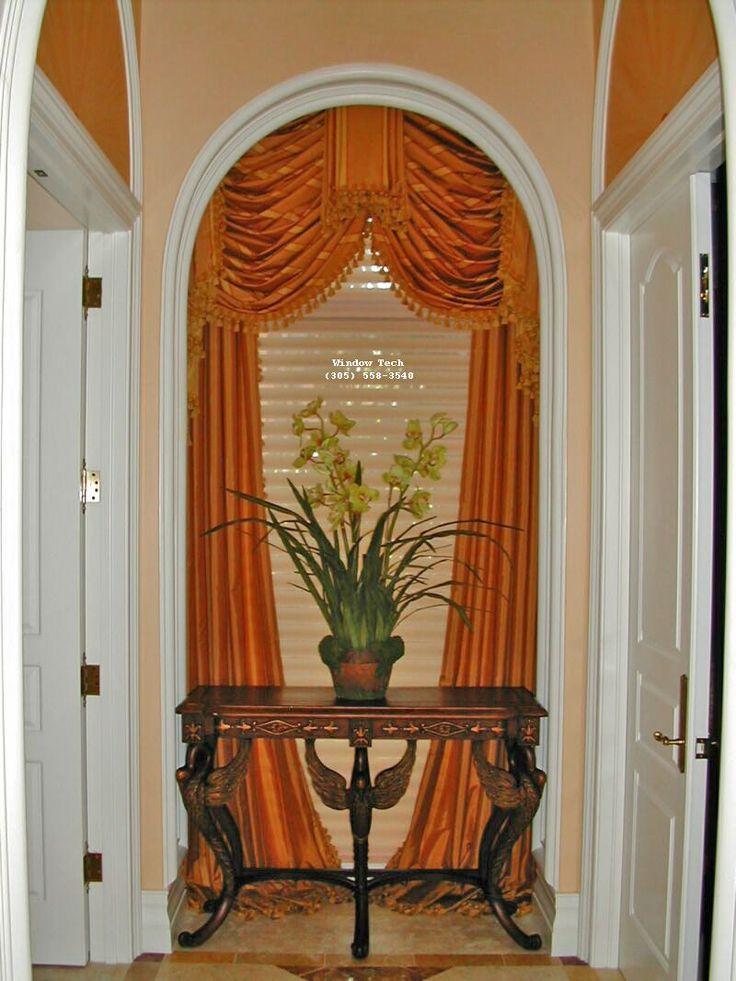 best 25 arch window treatments ideas on pinterest. Black Bedroom Furniture Sets. Home Design Ideas