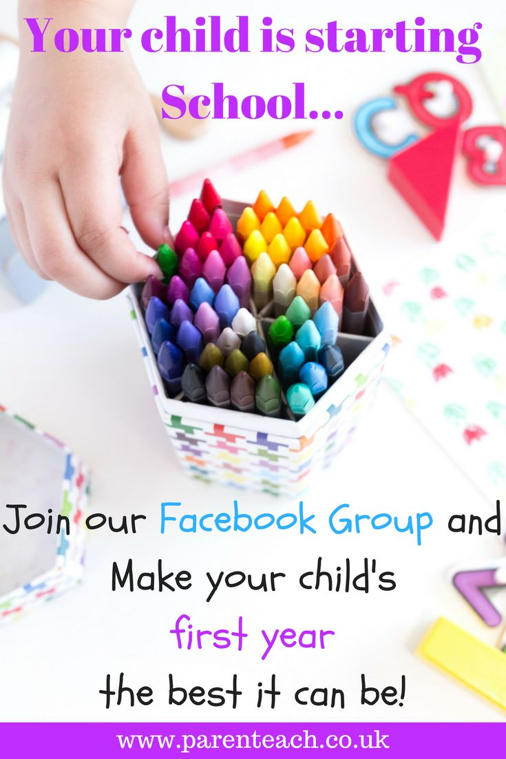 """Is your child starting school this year? Join our """"Starting School with ParenTeach"""" Facebook Group. A supportive community of parents whose children are starting school."""
