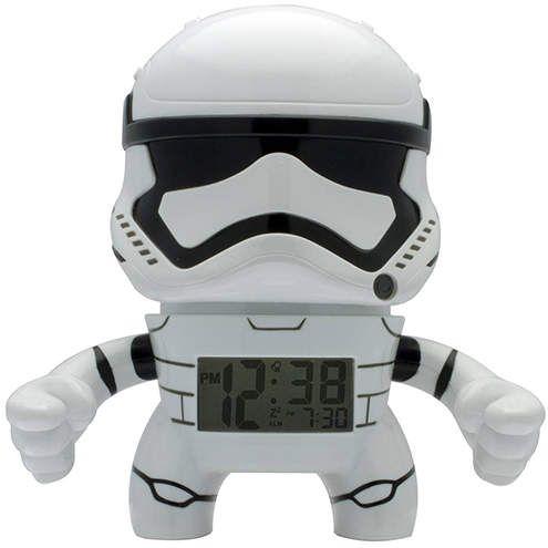Star Wars Stormtrooper Night Light Alarm Clock#ad
