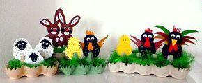amazon/basteln-Osterfiguren-Eierwaben-Nest