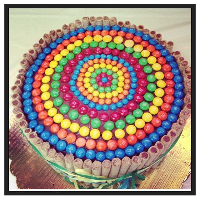 M's cake