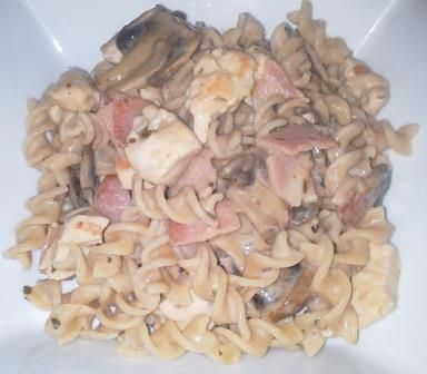 ... chicken, mushrooms, YIAH Country Onion & Chives Dip Mix, can of