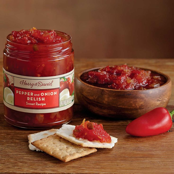 Sweet Pepper and Onion Relish   Gourmet Food Online   Harry & David