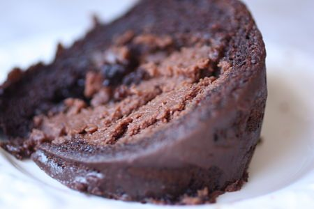 Oh my word!! Easy chocolate cream cheese cake with a hint of coffee. Need I say more? (Best yet, there's a short cut...)