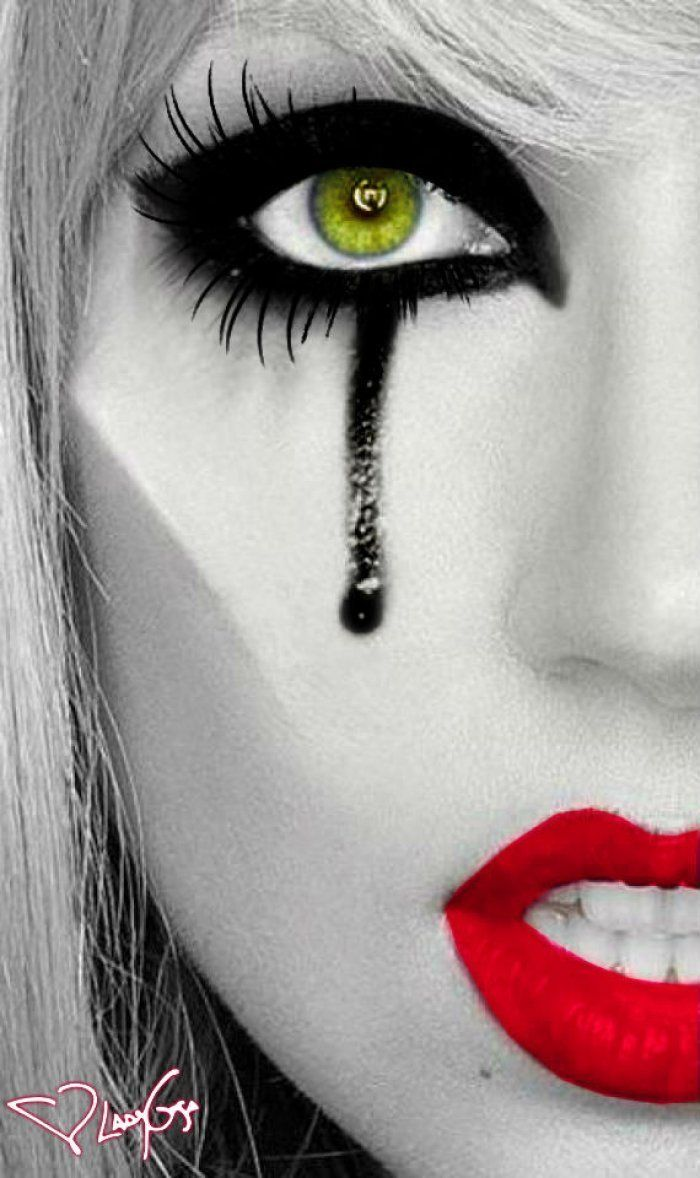 I chose this picture because I am wanting to create my zombie with dark eyes and strong lips