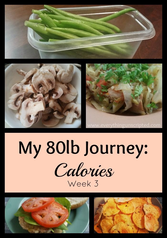 My 80lb Journey: Calories  I am now starting week 3 of this journey. To be honest, things seem a bit too easy for me this week. Implementing small changes each week, that was my goal when I started this journey.