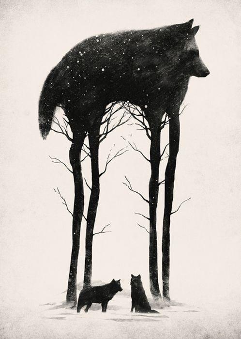 Standing Tall by Dan Burgess (DB art)