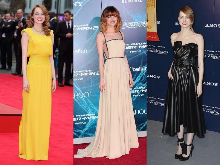 Emma Stone lenyűgöző premieres szettjei - A csodálatos Pókember promóciós turnéján sem okozott csalódást a színésznő!