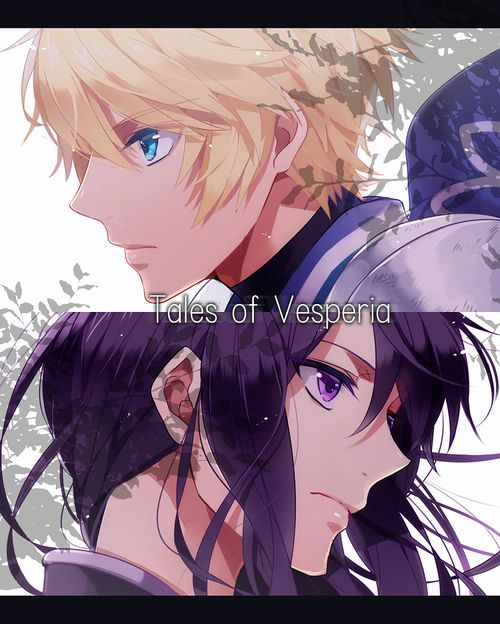 Yuri and Flynn from Tales of Vesperia ! THE BEST TALES DUO imo lol