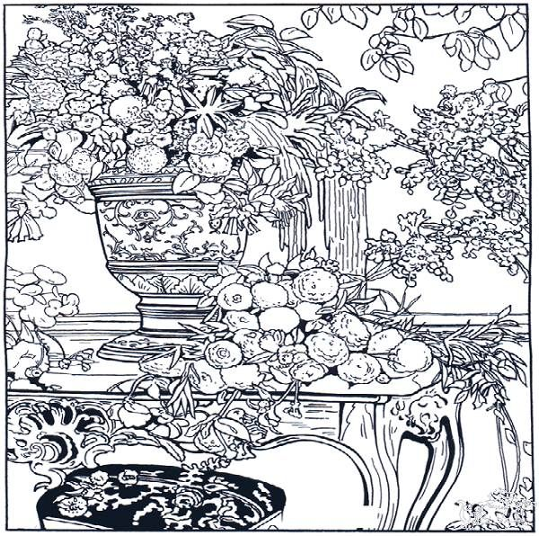 Advanced Art Coloring Pages : Best images about advanced coloring art on pinterest
