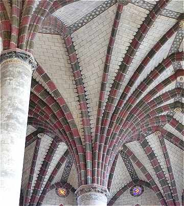 Intérieur du Couvent des Jacobins à Toulouse. Midi-Pyrénées