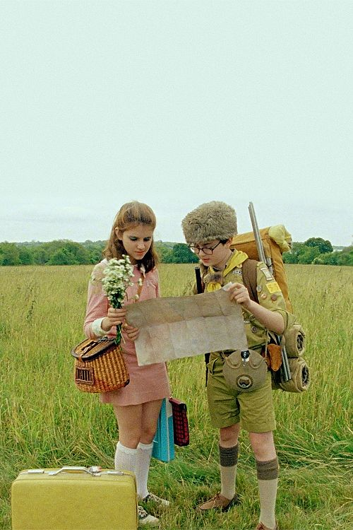 Moonrise Kingdom. Fuels my need for saddle shoes.