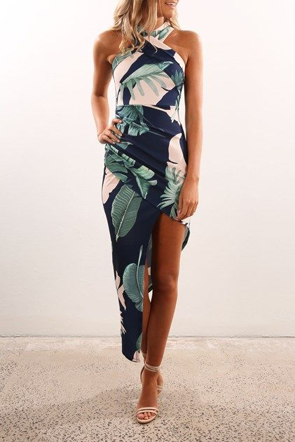 Mastermind Dress Navy Floral