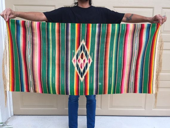 Hey, I found this really awesome Etsy listing at https://www.etsy.com/listing/467849035/30s-40s-antique-mexican-saltillo-serape
