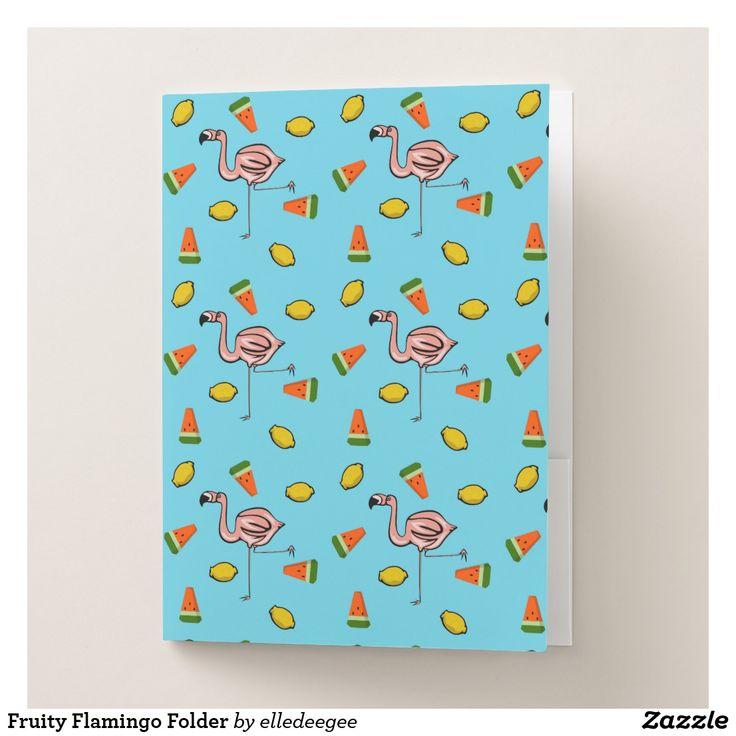 Fruity Flamingo Folder