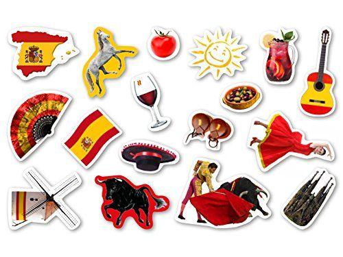 XXL-Großkonfetti * SPANIEN * mit 51 großen Konfetti-Teilen für eine Motto-Party oder Länder-Party // Party Kinder Kindergeburtstag Konfetti Deko Motto Spain Stierkampf Rotwein Flagge DH-Konzept http://www.amazon.de/dp/B010FKC85E/ref=cm_sw_r_pi_dp_.nT7vb07PGG2R